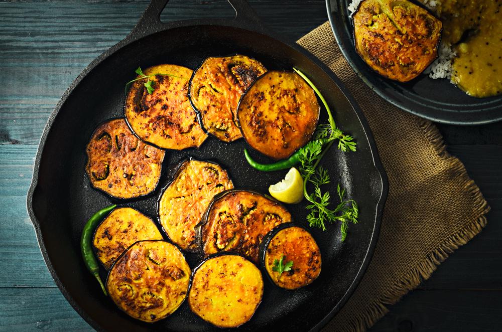 Vasant-Panchami-Festival-Food-Begun-Bhaja