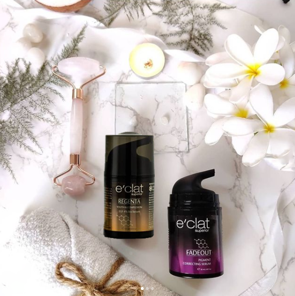 Product Review e'clat Superior Serums